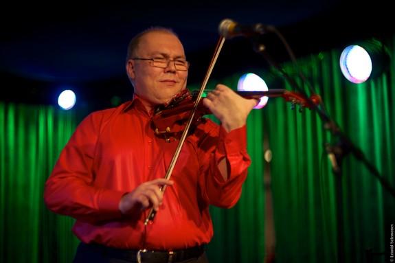 Человек со скрипкой