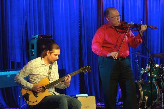 Гитара со скрипкой