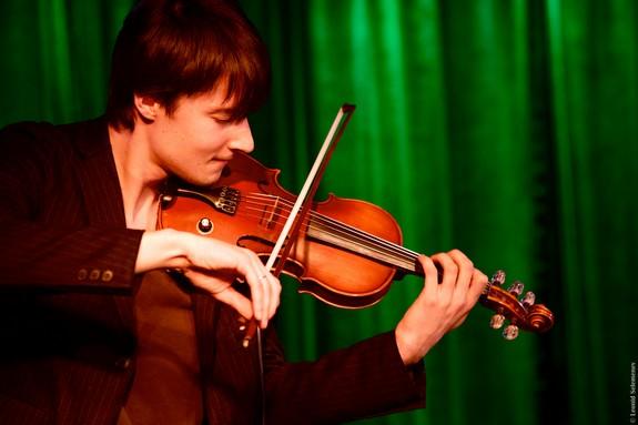 Парень со скрипкой